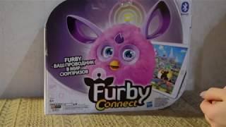 Furby Connect Ферби Коннект  Новая интерактивная игрушка для детей