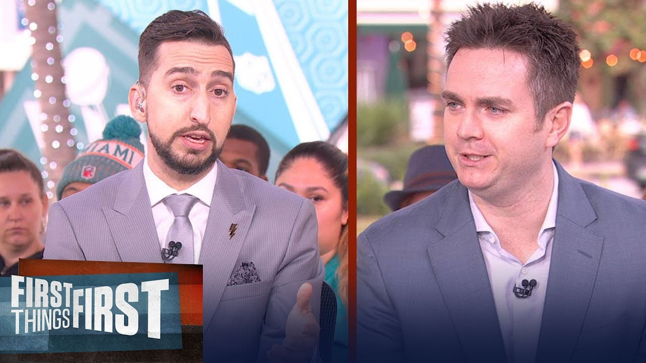 Kobe is responsible for the growth of the NBA — Chris Mannix | FIRST THINGS FIRST | LIVE FROM MIAMI