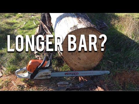 Running a Longer Bar on a Chainsaw?