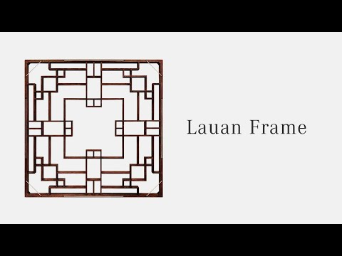 Lauan Frame Twins — Making of Changho Wooden Window Frame