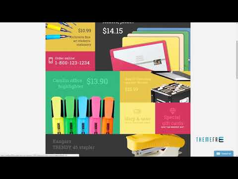 Stationery OpenCart Template TMT | Free Template  Fraser Franklyn