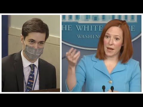 BUYBACKS OR CONFISCATION: Journalist Asks Jen Psaki about Biden's Push to END the Second Amendm