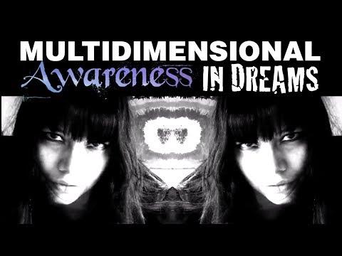 Multidimensional Awareness of People In Dreams VS While Awake