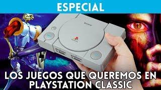 Los 20 JUEGOS que QUEREMOS en PlayStation Classic (PS MINI)