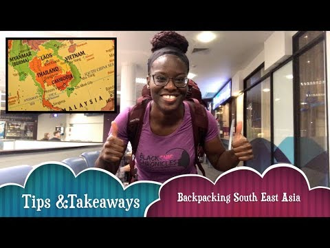 BlackChic Backpacking Tips and Takeaways in South East Asia (Traveling while Black) 🎒