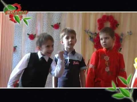 Детские частушки для 8 марта.