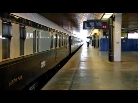 Oriënt Express leaving Krakow (2011)