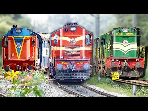 Music of the Chugging Diesel Engines (ALCo's) : Indian Railways