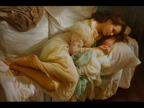 SERGE MARSHENNIKOV paintings ✽  SECRET GARDEN - Illumination