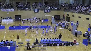 2018IH 男子バスケットボール  尽誠学園(香川県) 対 高岡第一(富山県) 1回戦