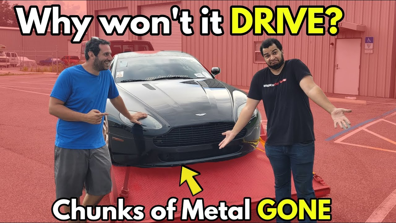 I Took my REPO Aston Martin to an Expert to See how Broken it is (He Found the Structural Damage)