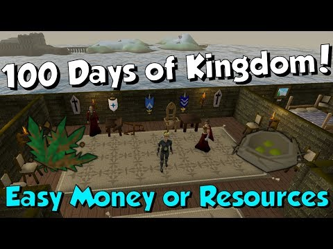 Loot from 100 Days of Kingdom! [Runescape 3] Miscellania is Op for Ironman!