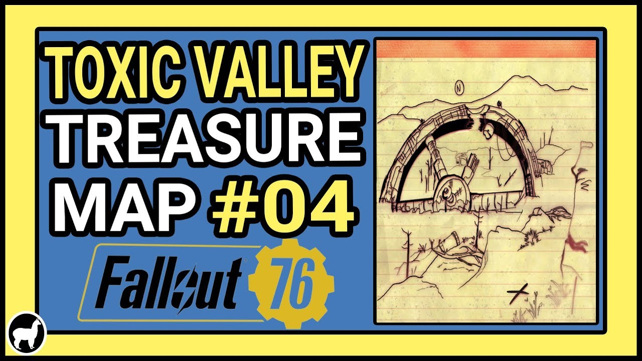 How to Solve Toxic Valley Treasure Map #04 Location | Fallout 76 Treasure  Maps | Toxic Valley 04 - YoutubeDownload pro