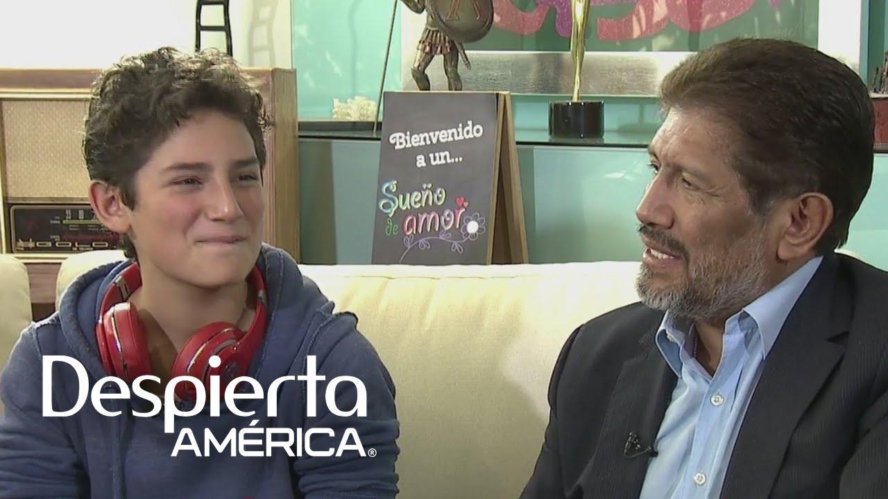 El hijo de Juan Osorio y Niurka quiso reunir a sus padres - YouTube