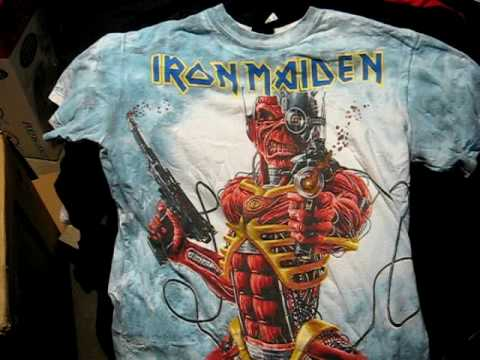Iron Maiden shirts collection