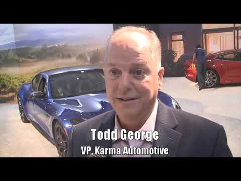 2019 LA Auto Show Video: 2020 Karma Revero GTS