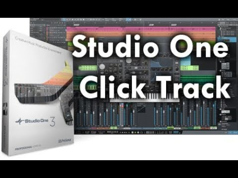 Studio One Click Track Overview