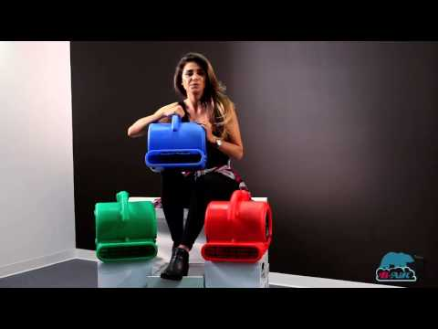 B-Air® VP-25 Air Mover | The Standard In Water Damage Restoration Equipment