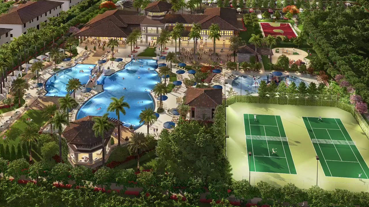 Club House Casa Club Park Central Doral Fl Lennar