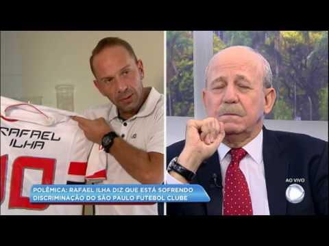 Rafael Ilha afirma sofrer discriminação do São Paulo Futebol Clube
