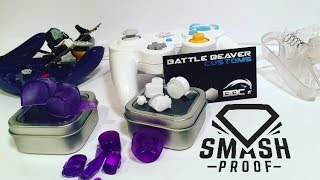 Custom Gamecube Controller Button Reviews (Battle Beaver Customs and Smashproof)