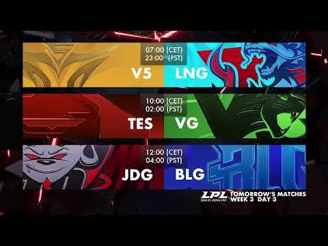 EDG Vs. RW | WE Vs. FPX  - Week 3 Day 2 | LPL Spring (2020)