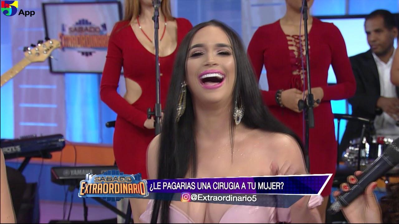 Amelia Alcantara La Cirugia Plastica Sabado Extraordinario telemicro