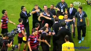 Sydney Wanderers Vrs Al Hilal (Fight- Spiranovic vrs Nasser Al-Shamrani spitting and headbutting) 2017 Video