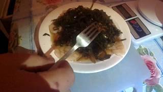 салат из гребешка с морской капустой