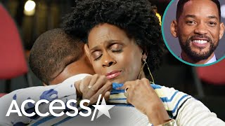Will Smith Tears Up Ending 'Fresh Prince' Feud w/ Janet Hubert