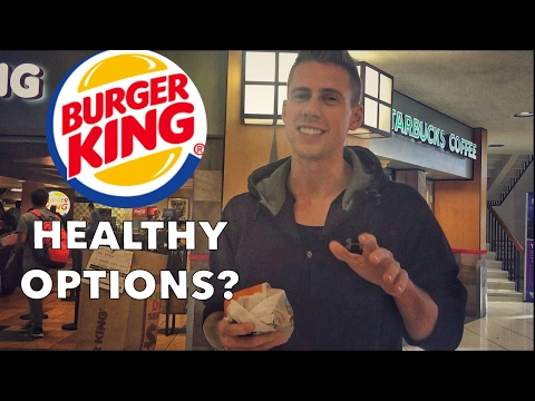 The Healthiest Option At Burger King | 063