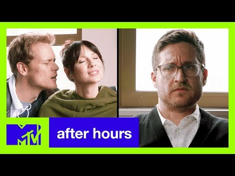 Sam Heughan & Caitriona Balfe of 'Outlander' Attend Couples Therapy  After Hours  MTV