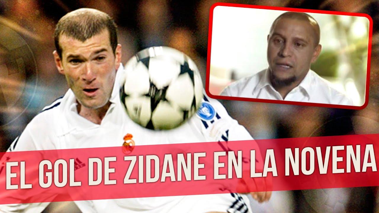 ROBERTO CARLOS cuenta la historia del GOL de ZIDANE en la NOVENA | Sabor a Fútbol