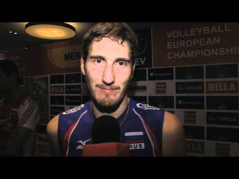 Maxim Mikhaylov Says Hello To Volleywood!