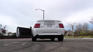 slp loudmouth ii lm2 vs stock exhaust 03 mustang gt