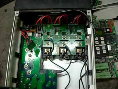 Danfoss VLT Variable Frequency Drive Exposed  YouTube