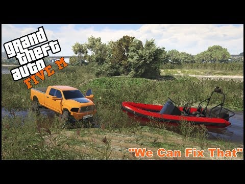 GTA 5 ROLEPLAY - TOW BRO'S SAVING A STRANDED BOAT - EP. 218 - CIV