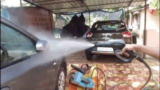 Portable car washer   two wheeler and 4 wheeler washing   nitto rai   technical guruji