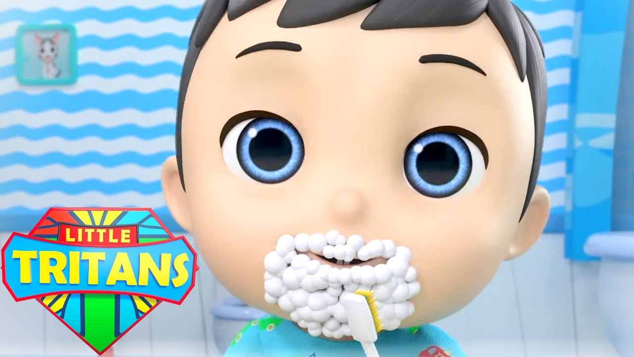 *New* This Is The Way Song | Morning Routine | Healthy Habits | Nursery Rhymes by Little Tritans