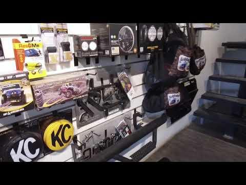 جولة في محل و كراج ORP و تركيب الدعاميات و الرفعة و الونش على سياراتنا
