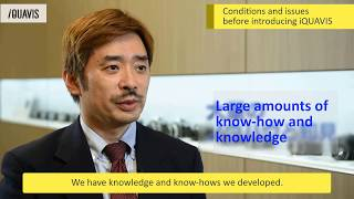 iQUAVIS User Interview by Nikon Corporation (with English Subtitles) thumbnail