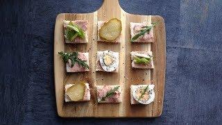 Как красиво и необычно подать Канапе На Праздничный стол | Мини бутерброды |
