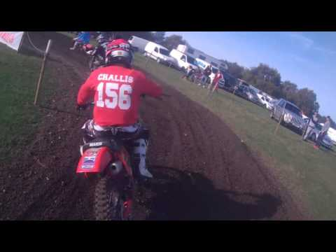 Christchurch mx at Crowe 490 maico blow up.