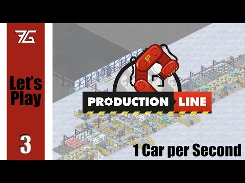 Production Line : 1 Second Car - Ep 3 Cost Savings