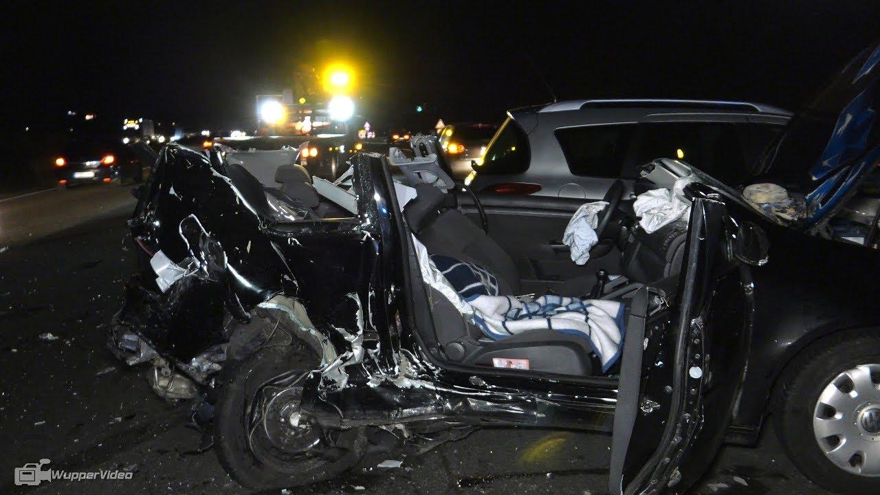 Schwerer Verkehrsunfall vor Autobahnkreuz Köln-West [A4] | 11.03 ...