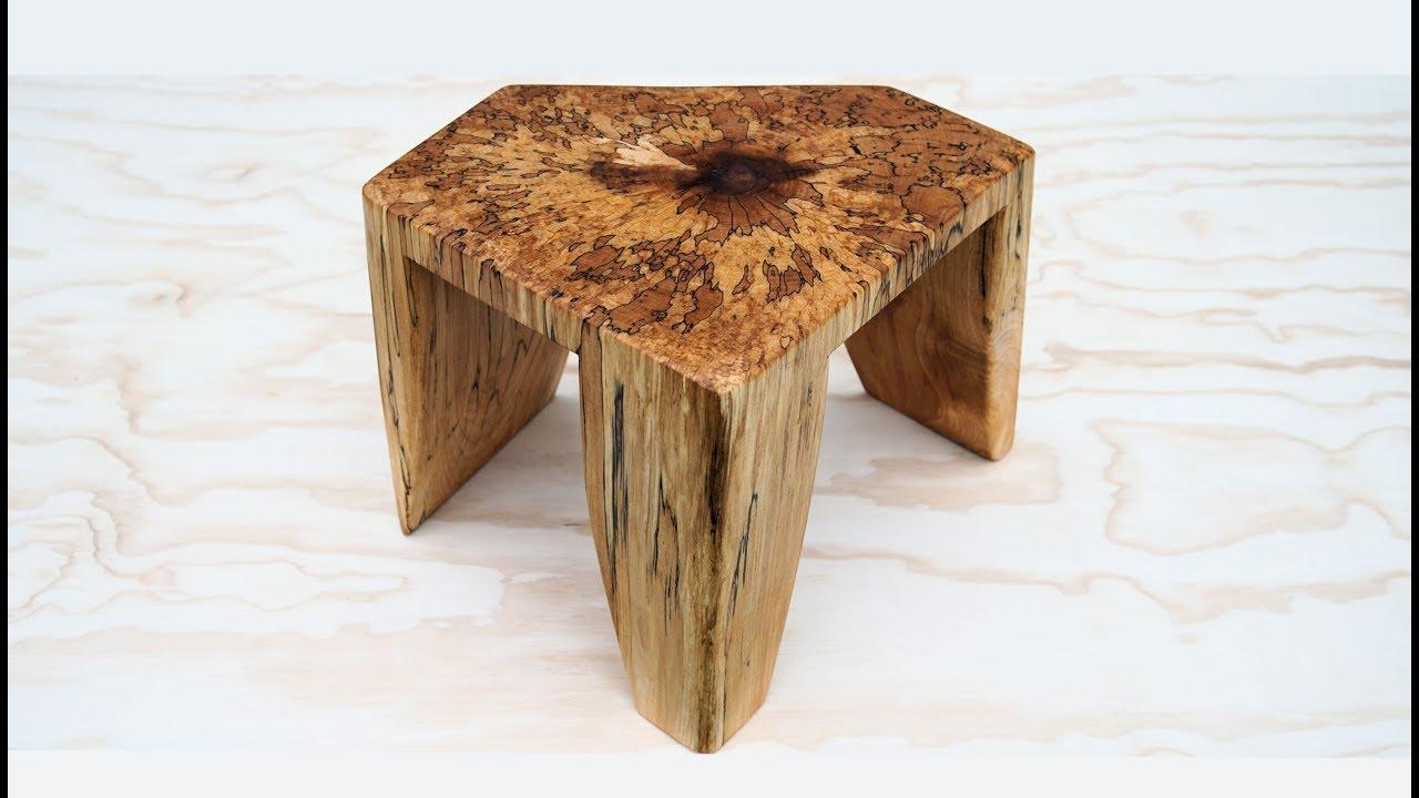 Wood Foot Stool
