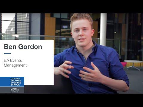 BA Events Management - Ben Gordon