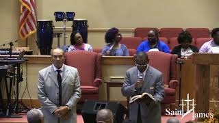 Walk In Your Favor | Paul E Davis, Senior Pastor | SJMBC 2019