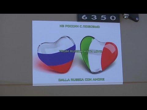 Coronavirus: la Russia invia aiuti all'Italia