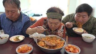 각종 나물 수제 고추장으로 만든 비빔밥Bibimbap요리and먹방   Mukbang Eating Show